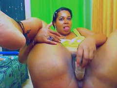 Webcam toy show with a hot black bbw movies at sgirls.net