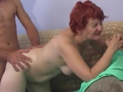 Mature redhead with shaved box pounded movies at sgirls.net