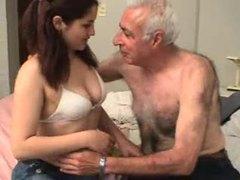 Old man fucks a sweet young thing movies at kilosex.com