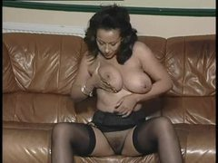 Glamorous and well dressed milf strips videos