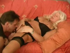 Mature blonde is a hot cocksucker movies at sgirls.net