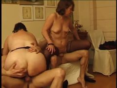 Two old ladies banged by younger men videos