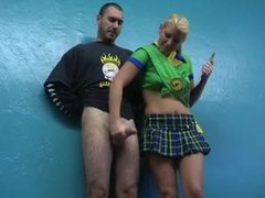 Girl scout gives a handjob movies at sgirls.net