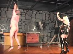 Mistress mercilessly whips her man (for real) videos
