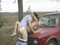 Fucked on hood of car outdoors movies at find-best-panties.com