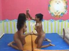 Brazilian girls practice facesitting fun movies at find-best-hardcore.com