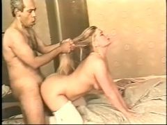 Curvy blonde in white stockings goes for bbc in cunt movies at find-best-hardcore.com