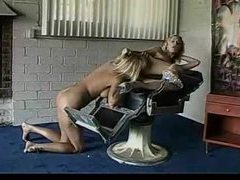 Two blonde lesbians love to eat pussy videos