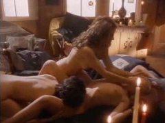 A retro porn movie is high on lusty sex videos