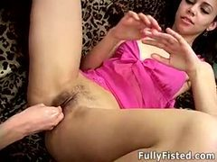 Hairy cunt fisted nicely movies at sgirls.net