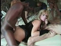 Massive tits on blonde doing a gangbang movies at find-best-videos.com
