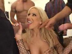 Gina lynn blows a ton of guys movies at find-best-lingerie.com