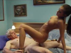Old man bones a tight body chick videos