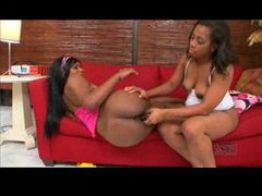 Black milf and teen have lesbian sex videos