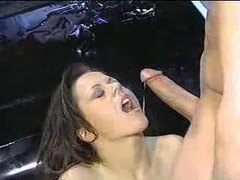 A mixture of cumshot clips videos