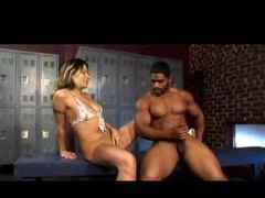 Muscular black guys likes squirting girls movies at adspics.com