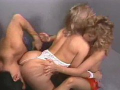80s porn with two sluts in threesome videos
