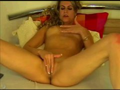 Solo slender blonde in sexy webcam show movies at very-sexy.com