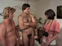 Horny retro hardcore with group sex videos