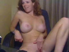 Girl with curly red hair masturbating movies at freekilosex.com