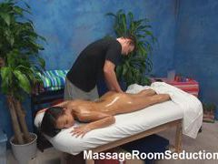 Teen in for massage gets fucked videos
