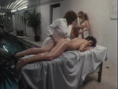 Lesbian massage turns into threesome movies at find-best-babes.com