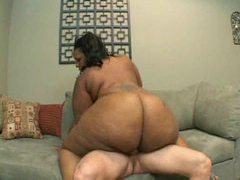 White dick fucking a truly huge black woman videos