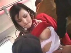 Cute girl fingered on a bus videos