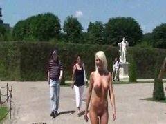 Naked girl walks through the gardens movies at find-best-tits.com