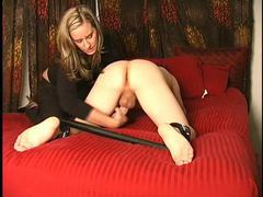 Spread submissive gets handjob movies at sgirls.net