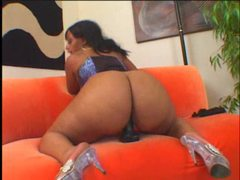 Black fatty in a corset gets black cock movies