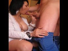 Big tits mature suck and handjob movies at freekiloclips.com
