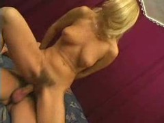 Hairy pussy blonde sits on dick after oral videos