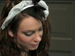 French maid fucked is super hot and fucking hard movies at adspics.com