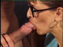 Fucking the milf in her fishnet stockings movies at adspics.com