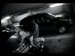 Woman having sex in a parking lot videos