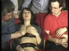 Swinging scene with real sluts movies at kilosex.com