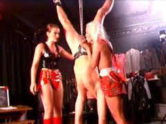 Two girls abuse a male slave movies at find-best-lingerie.com