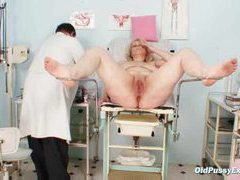 Gyno exam goes into her pussy movies at adspics.com