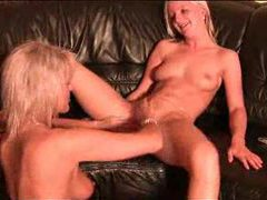 Young lady fisting with mature hottie videos