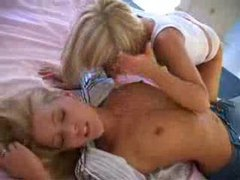 Blonde lesbian play with panties included videos