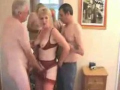 Mature wife and hubby joined by new man movies at kilotop.com