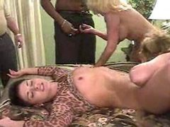 Interracial swinging orgy with matures movies at find-best-mature.com