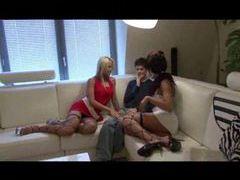 Two sluts and a teen guy have a threesome movies at find-best-panties.com