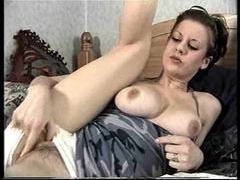 Teen fingers and dildo fucks her hairy cunt movies at kilopics.net