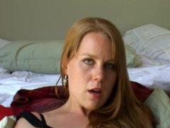 Redhead masturbating on camera videos
