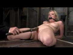 Great rope work with hot blonde videos