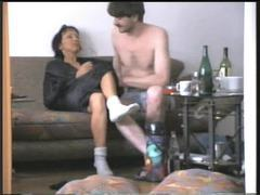 He fucks his wife on the couch movies at find-best-babes.com