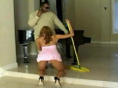 Wife cleaning the house and black cock movies at adipics.com