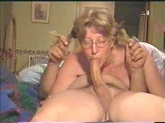 Mom deepthroats all the way down tubes